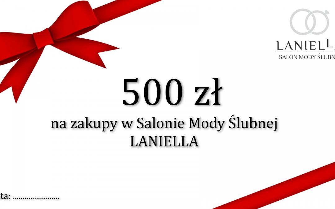 MEGA OKAZJA – BON O WARTOŚCI 500 zł